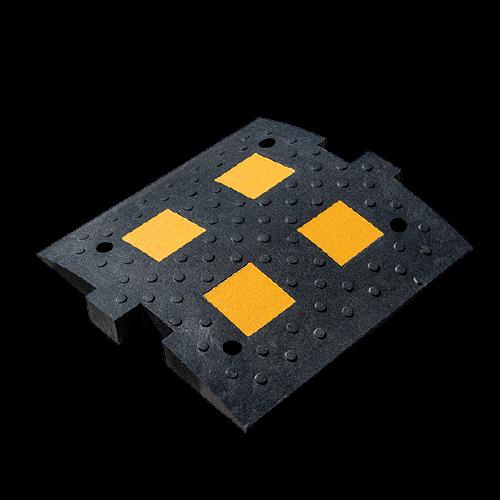ИДН-500 (искусственная дорожная  неровность) черная, композитная, средний элемент