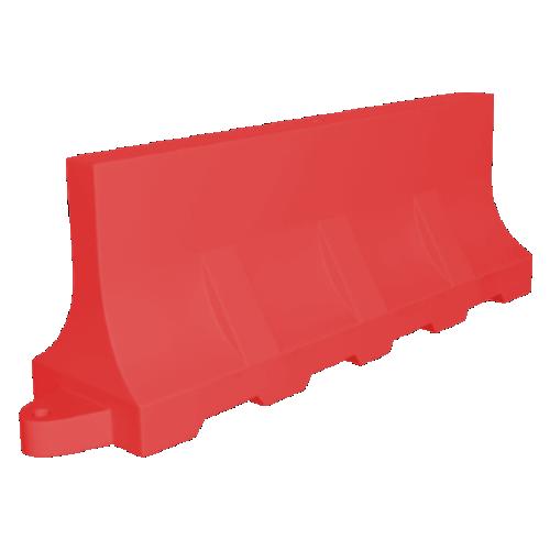 Дорожный барьер водоналивной, пластиковый БВ-2-К [красный]