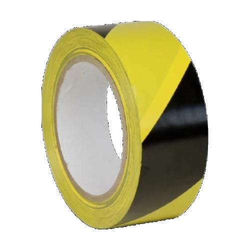 Лента для разметки пола желто-черная (Premium разметочная)