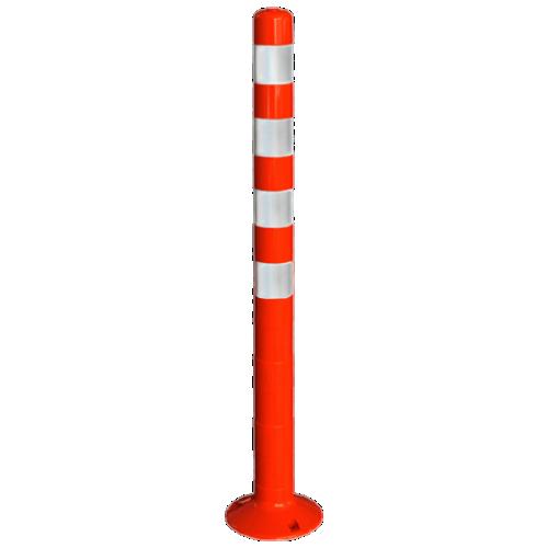Столбик сигнальный упругий ССУ-1000-4 [мягкий, гибкий, парковочный дорожный столбик]