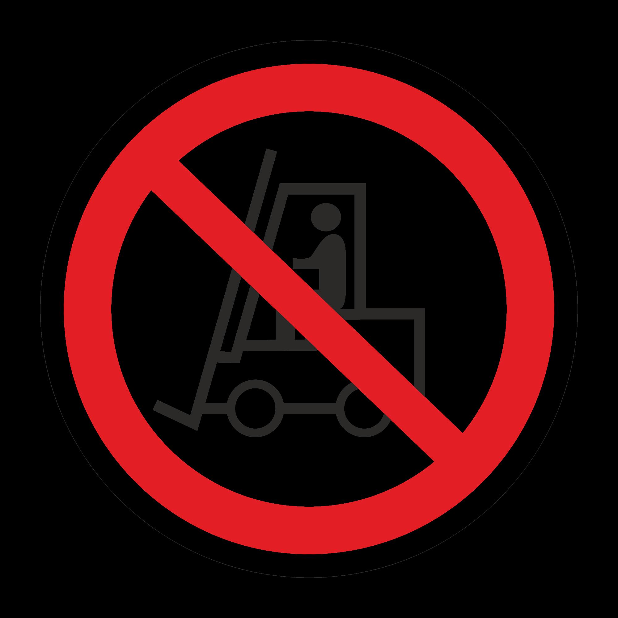 Р07 Запрещается движение средств напольного транспорта