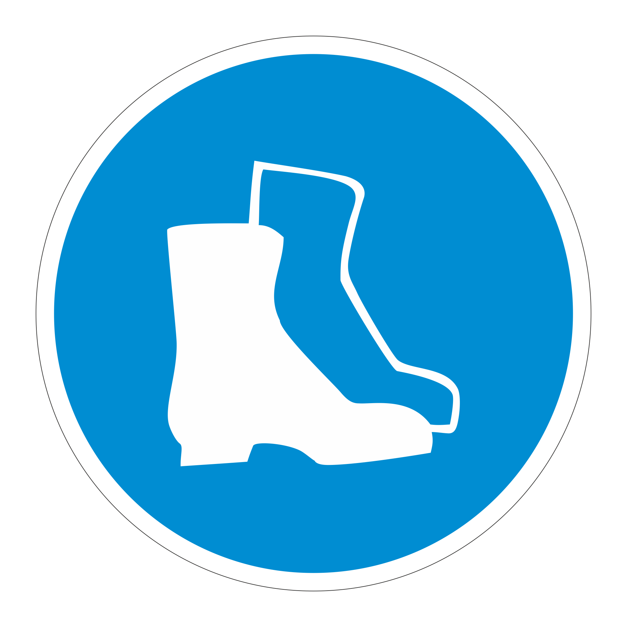 М05 Работать в защитной обуви