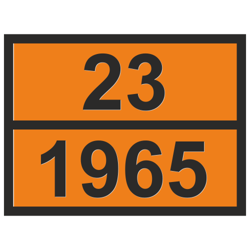 Табличка опасный груз 23-1965 Газ