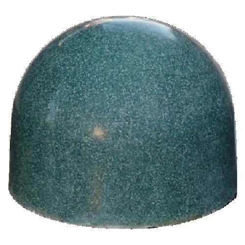 Бетонная полусфера БПС-15 [Под гранит, зеленая, антипарковочная]