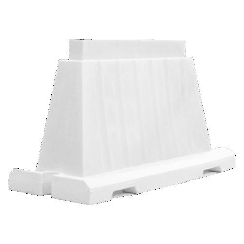 Дорожный блок водоналивной, пластиковый БВ-В-1.2-Б [белый, вкладывающийся]