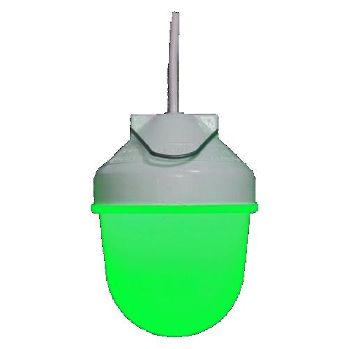 Фонарь сигнальный ФС-12-110 зеленый