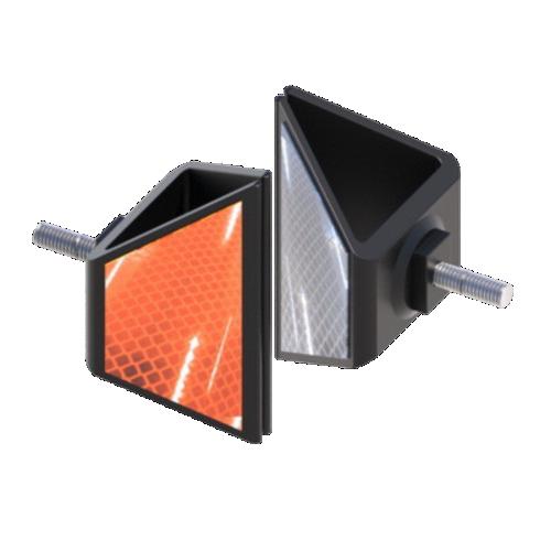 Катафот дорожный КД-5Р резиновый, световозвращатель [тип пленки Б]