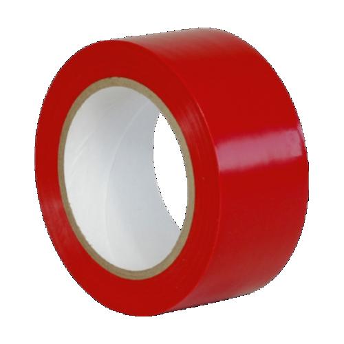 Клейкая лента для разметки, маркировки пола красная (Standart)
