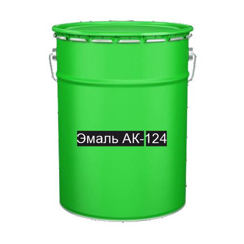 Краска для дорожной разметки Эмаль АК-124 зеленая